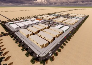 DEWA-Solar Park Temp. Labour Accom.